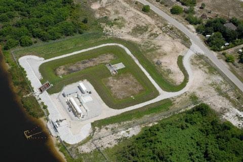 Everglades Restoration Florida Surface Facility For Lake